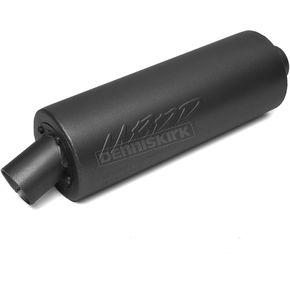 MBRP Black Universal Performance Slip-On Muffler - AT 8010P