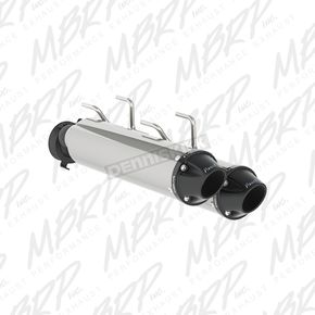 MBRP Black Sport Slip-On Muffler - AT 9706SP