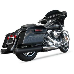 Firebrand Black Ceramic 4 in. Grand Prix Slip On Muffler - 10-1008