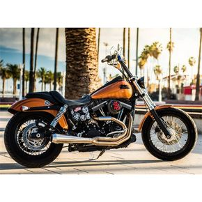 Bassani Road Rage Type III Stainless 2-Into-1 Exhaust - 1D1SS