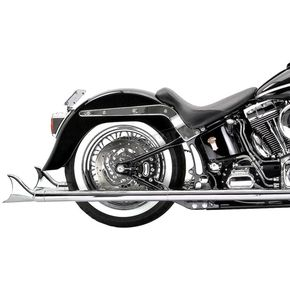 Samson 36 in. Mufflers w/Removable Longtail Tip - S-296