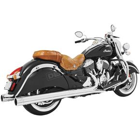 Freedom Performance Chrome 4 in. Eagle Slip-On Mufflers - IN00044