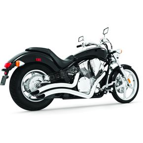 Freedom Performance Chrome Sharp Curve Radius Series Exhaust System - MH00007