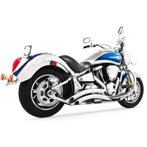 Freedom Performance Chrome Sharp Curve Radius Series Exhaust System - MK00003