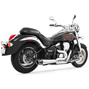 Freedom Performance Chrome Combat Series Exhaust System w/Black Tip - MK00012