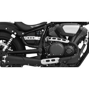 Freedom Performance Black American Outlaw Series Slip-On Muffler - MY00148