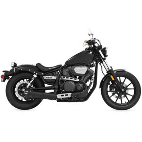 Freedom Performance Black 4 1/2 in. Combat Slip-On Exhaust - MY00151