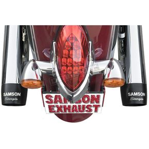 Samson Chrome Sturgis Edition Mufflers - IN-759