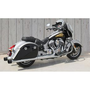 Samson Chrome Sturgis Edition High Performance Mufflers - IN-762