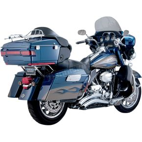 Chrome Big Radius 2-into-2 Exhaust System - 26042
