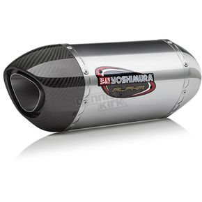 Yoshimura Stainless/Stainless/Carbon Fiber Works Finish Race Series Alpha FS Exhaust - 14651AM520