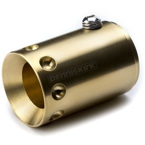 British Customs Brass Exhaust Tips - BC904-020-BS