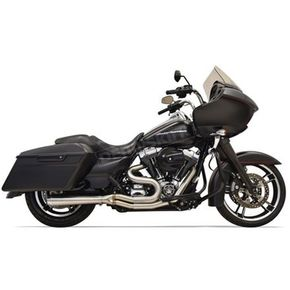 Bassani Stainless Steel Road Rage 2-Into-1 Short Exhaust - 1F32SS