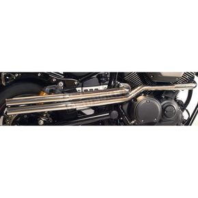 Mac Chrome 2-Into-2 High Pipe Drags Exhaust System - 004-9314