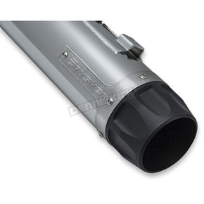 Chrome Maverick 4 in. Slip-On Mufflers  - 635
