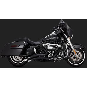 Black Big Radius 2-into-2 Exhaust System - 46073