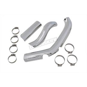 Two into One Exhaust Heat Shield Set - 30-0333