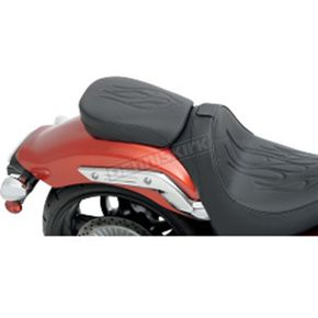 Z1R Flame Stitch Rear Seat  - 0810-1765