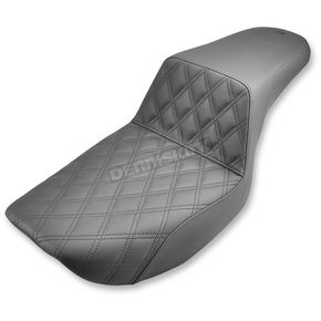 Saddlemen Lattice-Stitch Step-Up Seat - 882-09-172