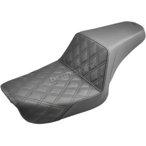 Saddlemen Lattice-Stitch Step-Up Seat - 804-04-172