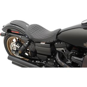 Drag Specialties Low Diamond Stitched Solo Seat - 0803-0547