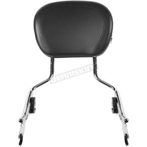 Chrome Tall Boy Detachable Sissy Bar Backrest - HW157111
