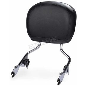 HogWorkz Chrome Detachable Sissy Bar Backrest - HW157111