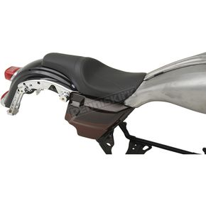 Drag Specialties Mild Stitch Predator Seat for Models w/Ness Winged Custom Fuel Tank - 0801-1071