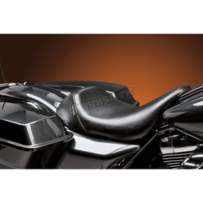 Black Bare Bones Smooth Solo Seat - LK-005RZ