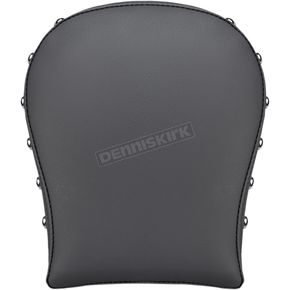 Black Renegade Studded Detachable Pillion Pad - SA1030