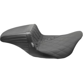 Black Kickflip Daddy Long Legs Diamond Gripp Tape Seat - LK-597DLDMGP