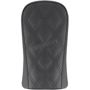 Black Renegade Lattice Stitched Sport Pillion Pad - 818-29-022LS