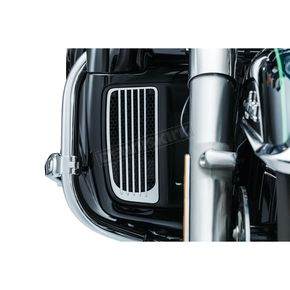 Kuryakyn Chrome Radiator Grills - 7681