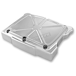 Performance Machine Chrome Formula Rocker Box Cover - 0177-2055-CH