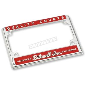 Quality License Plate Frame - LP-ZIN-DC-QC