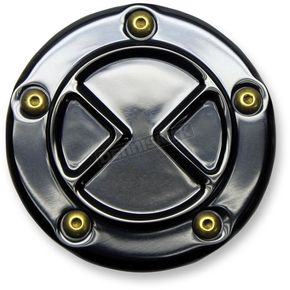 Carl Brouhard Designs Black Bomber Series 5 Hole Points Cover - BS-PT-B