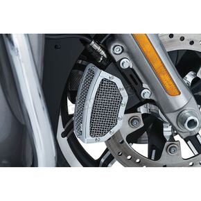 Kuryakyn Chrome Mesh Front Caliper Covers - 6538