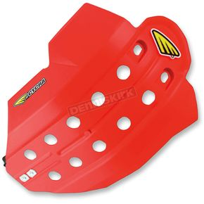 Cycra Red Full Armor Skid Plate - 1CYC-6200-33