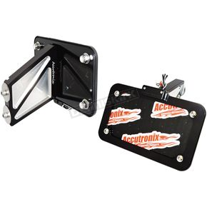 Night Series Side Mount License Plate Mount - LPF024HV-B