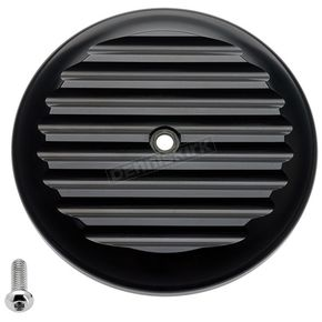 Black Finned VT Air Cleaner Cover - 02-220-1