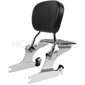Chrome Sissy Bar Luggage Rack - HW157110