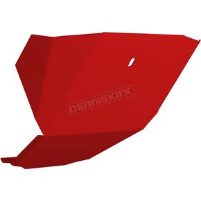 Polaris Red Aluminum Skid Plate - 182-112-POLRED