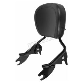 Black Shorty Detachable Sissy Bar Backrest - HW157123