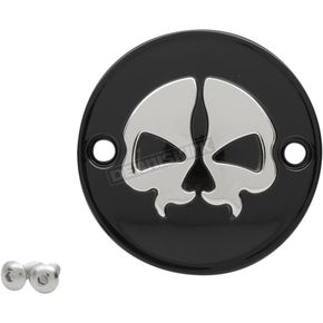 Black Split Skull Points Cover (2 hole) - 0940-1744