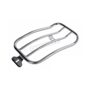 Chrome 7 in. Solo Luggage Rack - MWL-118