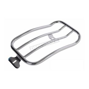 Chrome 7 in. Solo Luggage Rack - MWL-180