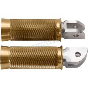 Gold Speedpegs Footpegs - SM-HDSTCPG