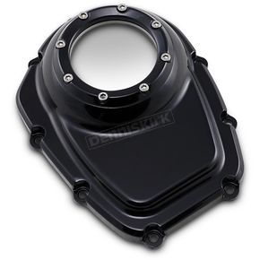 Gloss Black Powdercoat Assault Series Cam Cover - TM-018BK