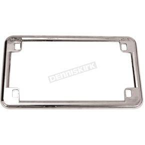 Chrome License Plate Frame - 13201