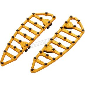 Gold MX Driver Floorboards - 06-894